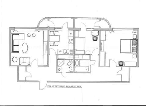 Продается трехкомнатная квартира Рублевское шоссе дом 93 корпус 2, м. - Фото 3