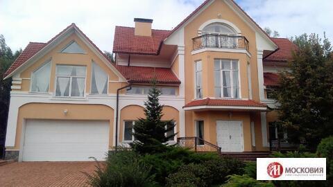 Готовый дом 1000 кв.м, на лесном участке 50 сот, Новая Москва - Фото 1