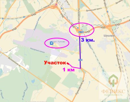 Пулковское шоссе 40 Га - Фото 3