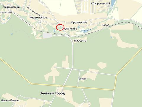 Продам зем. уч. 17,5сот. в Зелёном Городе, в деревне Черемисское - Фото 5