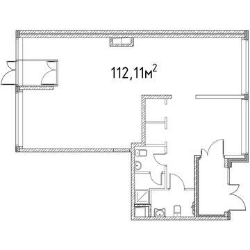 Торговое помещение в аренду 112.11 м2 - Фото 1