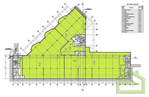 Офис 1300 кв.м. в современном бизнес центре - Фото 2