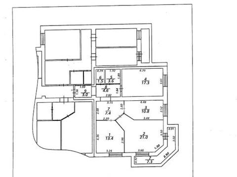 Двухкомнатная 82 кв.м. в новом кирпичном доме - Фото 4