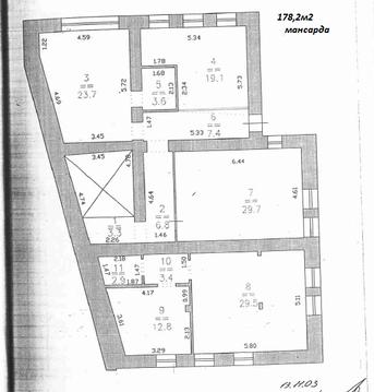Трехэтажное здание в центре - Фото 3