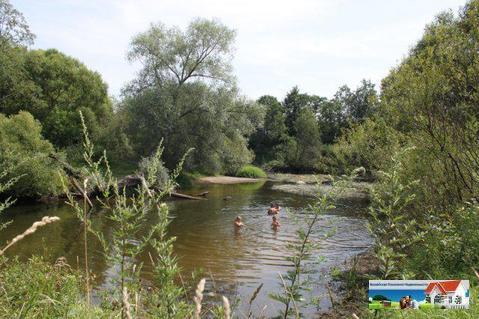 Уютный участок 12,5 соток у леса рядом с рекой Искона, д. Пуршево - Фото 1