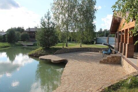 Уютный дом с баней и прудом (каток, купание). Красивый участок - Фото 1