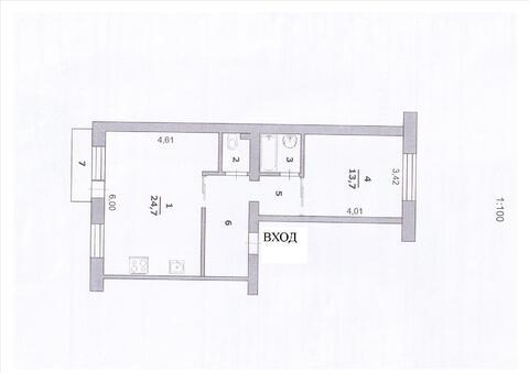 Двухкомнатная студия с ремонтом в центре - Фото 5