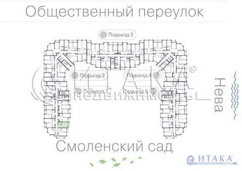 Продажа квартиры, м. Елизаровская, Общественный пер. - Фото 2