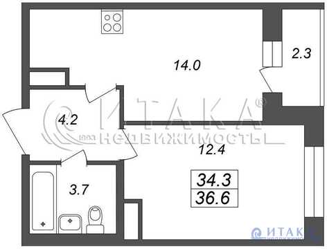 Продажа квартиры, м. Ломоносовская, Русановская ул - Фото 1
