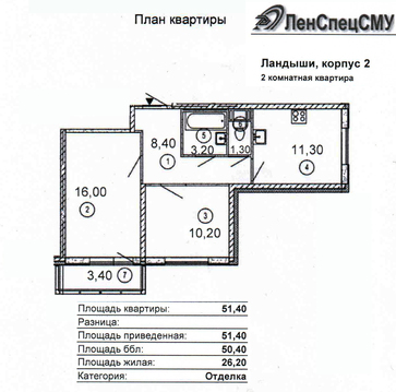 Продаю 2кв м.Лесная ЖК Ландыши Санкт-Петербург - Фото 2