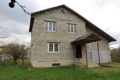 Дом Пеноблок 200 м2, Гараж, Газ, ул. Железнодорожная - Фото 2