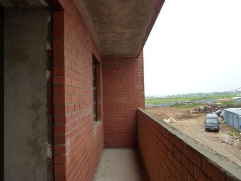 Однокомнатная квартира в новом кирпичном доме в микрорайоне Кубяка - Фото 4