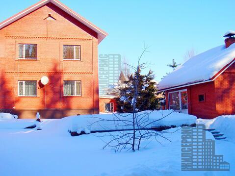 Кирпичный дом с баней русской в охраняемом поселке, Мышецкое - Фото 3
