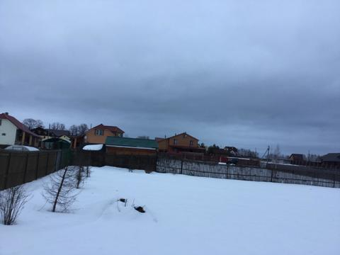 10 соток в обжитой деревне Сенино Чеховского района - Фото 3