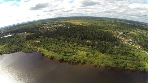 Эксклюзивный участок 459 соток, ИЖС, на первой линии реки Волга - Фото 1