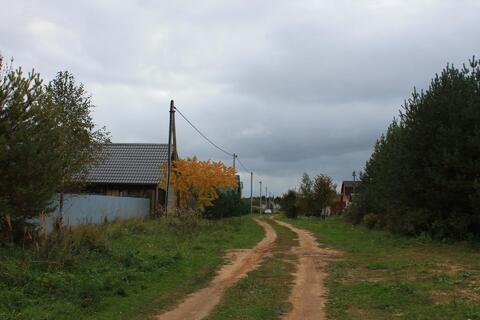 Д.дубки70 км от МКАД , газ на участке, сосны, жилая улица - Фото 1