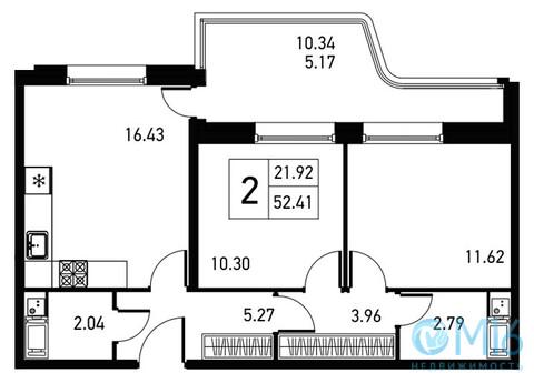 Объявление №45534213: Квартира 2 комн. Санкт-Петербург, ул. Львовская, 21А,