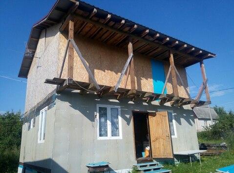 Дача 100м2 на участке 6 сот. СНТ Ивашково-1 - Фото 1