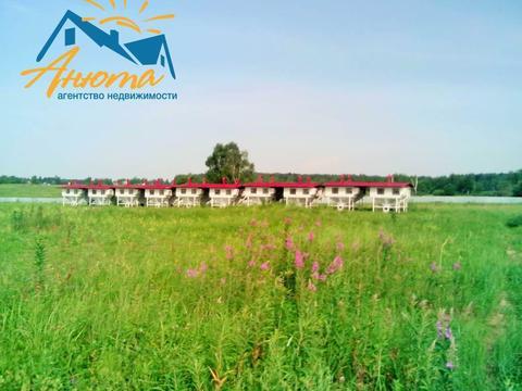 Участок 3,25 га в 4 км от а108 деревне Ильино Калужской области - Фото 1