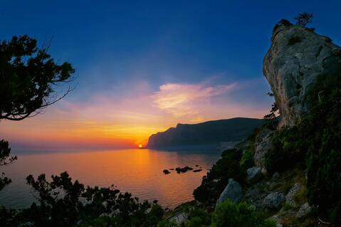Участок у моря Крым Севастополь бухта Ласпи - Фото 1