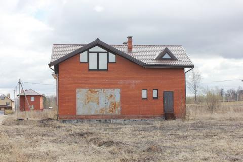 Дом из блоков обложен кирпичом, 120 кв.м. д. Пересветово. - Фото 4