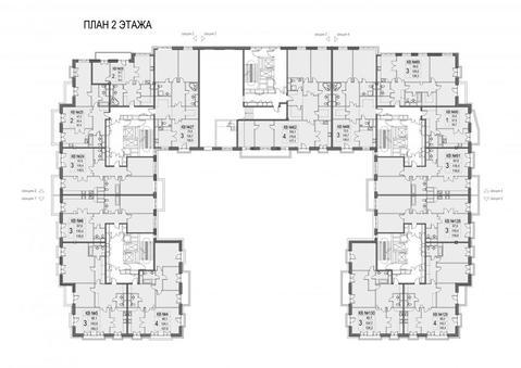 3-х комнатная квартира 128 кв. м в доме deluxe на набережной Москва . - Фото 4