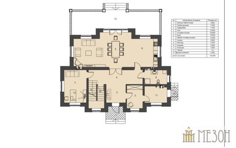 В кп Европа-3 (Английский квартал) продается современный кирпичный дом - Фото 3