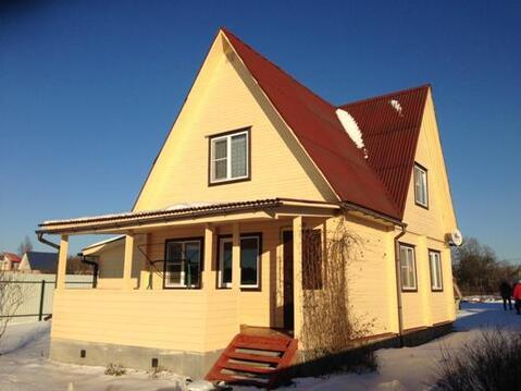 Дом из клееного бруса вблизи г. Руза - Фото 1