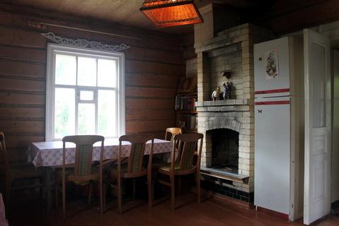 Добротный ухоженный дом из бревна с печным отоплением - Фото 4
