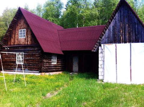 Бревенчатый дом 80 кв.м. 10 соток у леса. Газ по границе. 50 км. МКАД. - Фото 2