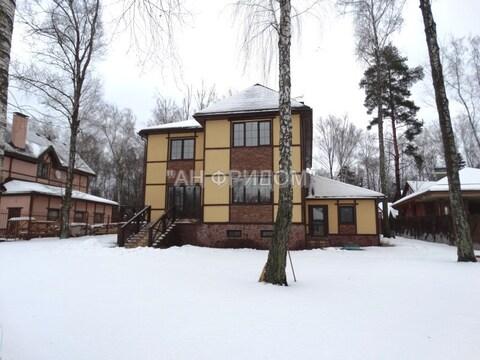 Коттедж 350 кв.м. 15 сот. в лесу 5 км от Москвы - Фото 4