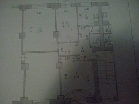 3х комн. кв-ра, Купить квартиру в Нижнем Новгороде по недорогой цене, ID объекта - 310108080 - Фото 1