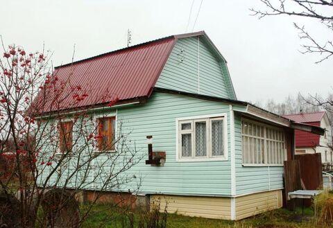 Дача 60 м2 на участке 8 соток в СНТ «Астафьево», Ступинский район - Фото 1