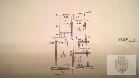3-комнатная квартира в центре Можайска (20 Января д. 6) - Фото 2