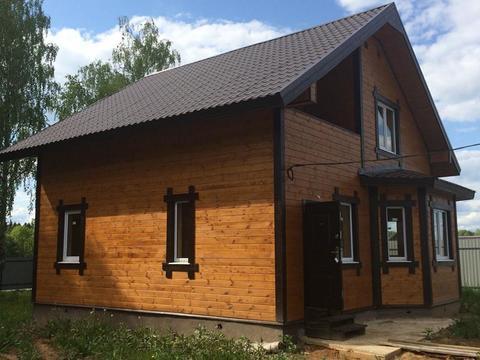 Новый дом, готовый к проживанию в СНТ вблизи деревни Панское. - Фото 1