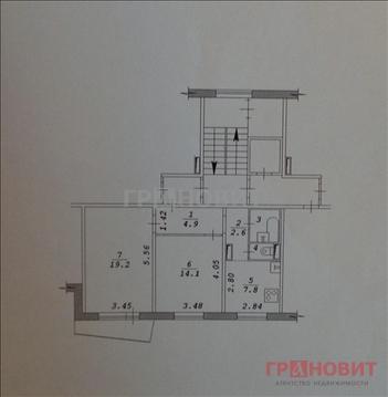 Продажа квартиры, Озерный, Новосибирский район, Армейский микрорайон - Фото 3