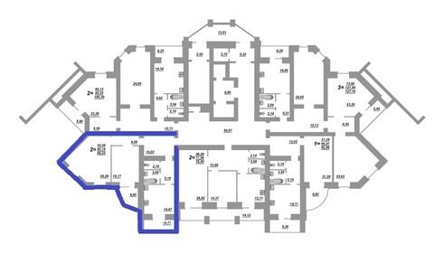 Двухкомнатная квартира на Бульваре Юности 41(кирпич) - Фото 2