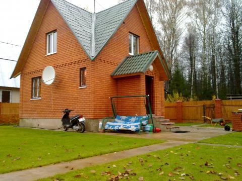 Дом с баней, Москва, Кленово, СНТ Дубрава. - Фото 1