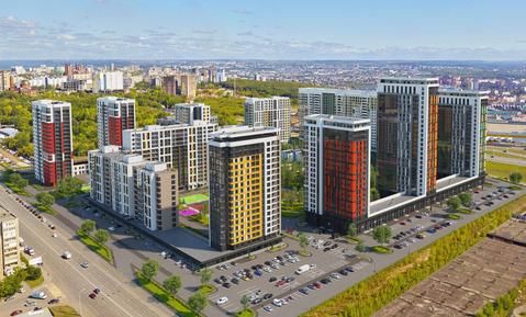 Двухкомнатная квартира в г. Уфа, Кваратал Энтузиастов Планета - Фото 1