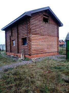 Кобралово участок с домом, баней, беседкой из калиброванного бруса ИЖС - Фото 3
