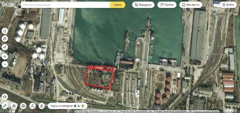 Участок в морском порту (Керчь)