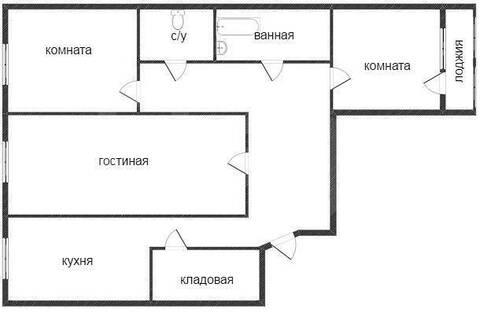 Продам 3-комн. кв. 63.5 кв.м. Тюмень, Газовиков - Фото 1