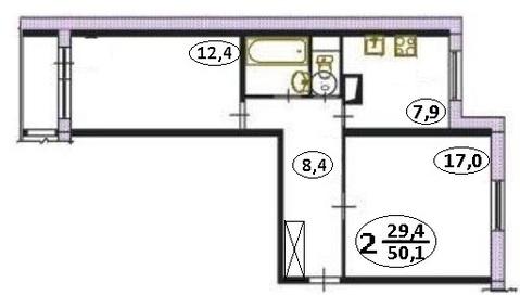 Двухкомнатная квартира в Северном Тушино! - Фото 4