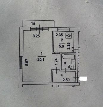 Продам 1к. квартиру в панельной пятиэтажке - Фото 2