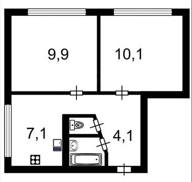 Уютная 2-ккв по цене 1-ккв рядом с метро Академическая - Фото 2