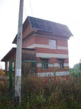 Недостроенный 3-х уровневый кирпичный дом 6х6 м. на участке под ИЖС. - Фото 1