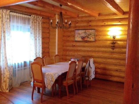 Дом из рубленного бревна под ключ, д. Черная Грязь Калужская область - Фото 1