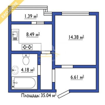 """ЖК """"Шуваловский"""" 2оч, 12эт, 1к кв, 35м2 - Фото 5"""