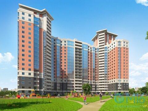 Продажа 2-комнатной квартиры в Калининском районе, 55.78 м2 - Фото 1
