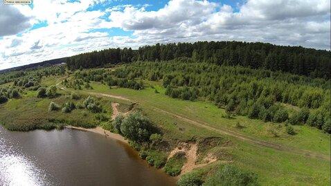 Эксклюзивный участок 459 соток, ИЖС, на первой линии реки Волга - Фото 3
